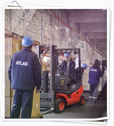 Работа на складе