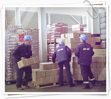 Обработка грузов на складах
